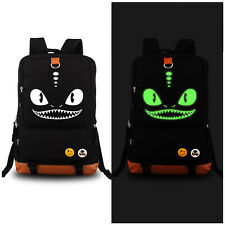 How to Train Your Dragon Toothless Night Fury Shoulders Bag Luminous Backpack