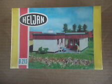VINTAGE HO SCALE HELJAN VILLA COTTAGE LANDHAUS B215 NOS SEALED RAILROAD