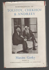 REMINESCENCES OF TOLSTOY, CHEKHOV & ANDREEV BY MAXIM GORKY- 1948 HOGARTH PRESS