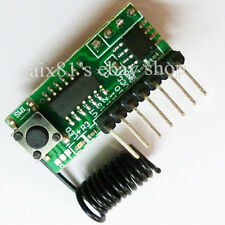 Universal Wireless Super Regeneration 315MHZ Fixed Decoder Receiver Module