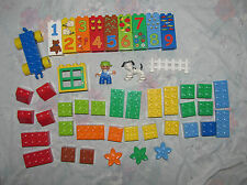 Lego Duplo Set 5497 Play with Numbers - Figure, Dog, Number Bricks - Missing 10