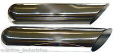 2 QTY Jones Exhaust Tip Stainless Steel 4 inch Dia X 18 Long fits a 2.25 Exhaust