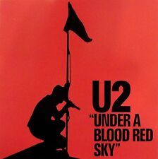 U2 CARTE DE VOEUX - GREETING CARD - UNDER A BLOOD RED SKY