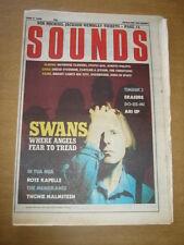 SOUNDS 1988 JUNE 11 SWANS TIMBUK 3 ERASURE MEMBRANES MICHAEL JACKSON STATUS QUO