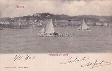 LA SPEZIA - Panorama dal Molo 1903