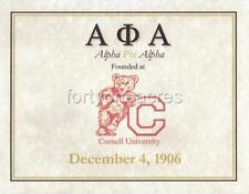 FOUNDED AT Series - Alpha Phi Alpha Print - CORNELL (Version 1)