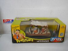 RC2 ERTL JOY RIDE 1:18 DIE-CAST HANNA BARBERA THE FLINTSTONES FLINTMOBILE NIB