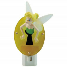 Walt Disney Tinkerbell Figure Stuck in a Keyhole Acrylic NightLight, NEW UNUSED