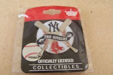 2010 N.Y. New York Yankees vs Boston Red Sox The Rivalry lapel pin