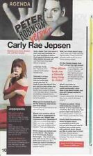 CARLY RAE JEPSEN : INTERVIEW ARTICLE -2015-