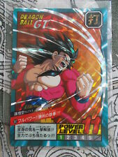 Carte Dragon Ball Z Prism Card DBZ Super Battle Power Level N°837 Part 20
