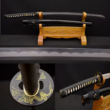 Japanese Samurai Sword KO KATANA 1095+Damascus Steel Kobuse Blade Real Hamon New