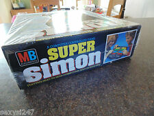 SUPER SIMON NEW OLD STOCK GAME SEALED IN BOX FROM 1981 MB ICONIC SCARCE