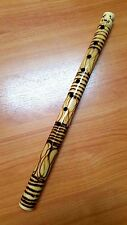 Thai Laos Bamboo Heritage Flute Pipe Natural Wood Handmade Musical  Good Sound