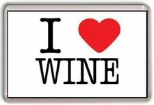I LOVE WINE Fridge Magnet