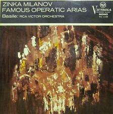 Zinka Milanov(Vinyl LP)Famous Operatic Arias-RCA-VIC 1198-UK-Ex-/NM