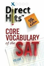 Direct Hits Core Vocabulary of the Sat 5th Edition by Direct Hits (2012,...