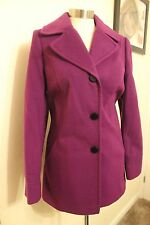 size 16 ladies purple coat from dorothy perkins brand new