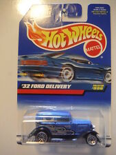 1999 Hot Wheels '32 Ford Delivery Truck - Blue
