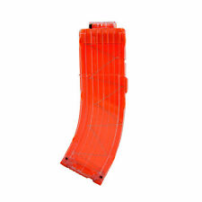 Orange Clear 15 Darts Clip Replacement for Nerf N-strike Elite Series Blaster