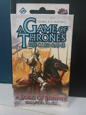 A GAME OF THRONES THE CARD GAME LCG - A SONG OF SUMMER CHAPTER PACK