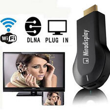 Miracast airplay DLNA HDMI Plug in Wifi 2.4G 5G for iPhone IOS Samsung Android