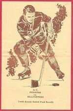 Vintage 1960s DENVER UNIVERSITY PIONEERS COLLEGE HOCKEY PROGRAM Future NHLers