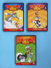 TOM & JERRY CLASSIC COLLECTION DVDs Vols 1-3