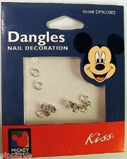 Last one! KISS MICKEY UNLIMITED MOUSE PLUTO NAIL DANGLES DECORATION CHARMS ART