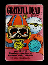 Grateful Dead Backstage Pass Scuba Diving Skeleton Dive Shoreline 5/23/1993 CA