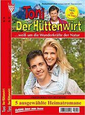 5 HEIMATROMANE * Neu * TONI DER HÜTTENWIRT Nr.231 bis 235 Friederike von Buchner