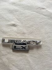 NEW GENUINE SUBARU LEGACY LX REAR CHROME BADGE