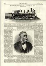1889 Mogul Engine Canadian Pacific Railway Hermann Gruson