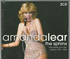 3 CD (NEU!) AMANDA LEAR - Sphinx: Best of (Follow me Queen of Chintown OVP mkmbh
