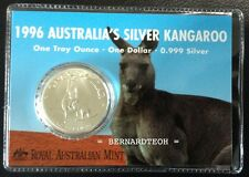 Royal Australian Mint 1 oz 1996 Silver Kangaroo - (999 Bullion Silver)