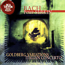 Serkin, Bach, Goldberg Variations / Italian Concerto, Very Good