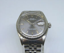 Nice, Genuine Rolex Oyster Perpetual Datejustp Official Certified Chronometer