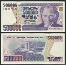 TURCHIA / TURKEY - 500000 Lira  L.1970 (1993) Pick 208 UNC