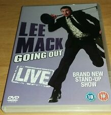 Lee Mack - Going Out Live  DVD