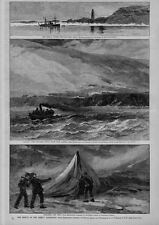 RESCUE OF THE GREELY EXPEDITION DEVIL'S THUMB MELVILLE BAY CAPE SABINE SIGNAL