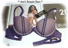 Von Follies-Ladies-Size 10B-Sexy-Lace-Fishnet-Padded-U/W-Bra-BNWT-RRP $39.95