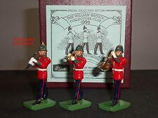 Britains Coleccionistas Club Sherwood guardias forestales banda Trompeta De Clarinete Corno francés