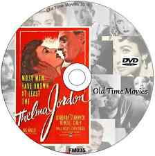 The File on Thelma Jordon - Barbara Stanwyck  Thriller Film on DVD 1950