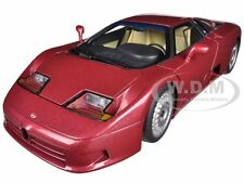 BUGATTI EB110 GT DARK RED 1/18 DIECAST MODEL CAR BY AUTOART 70977