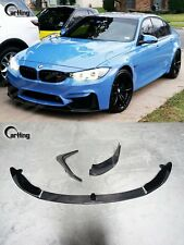 CARKING 15+ ALL CARBON BMW F80 F82 F83 M3/M4 P style FRONT LIP SPLITTER SPOILER