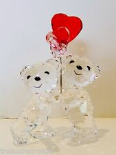 "SWAROVSKI 2016 ` KRIS BEAR  "" HEART BALLOONS "" ,  #5185778 ,  REDUCED"