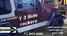 1997-2006 Jeep TJ Wrangler Diamond Plate Rocker Panels $46.95 + FREE SHIPPING