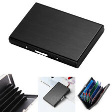 Stainless Steel Waterproof Business ID Credit Card Wallet Holder Pocket Case Box