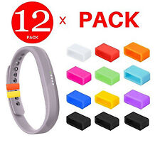 12 x Security Band Clasp Ring Loop Fastener For Fitbit FLEX 2 / ALTA