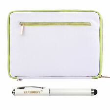 White 10.1 Tablet Sleeve Pouch Bag for Apple iPad Air 2 / iPad Pro 9.7 +Stylus
